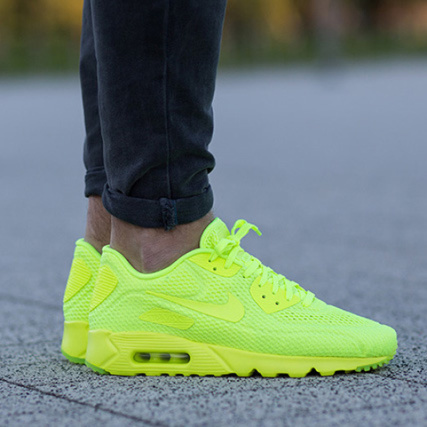 new high quality on feet at where can i buy basket air max jaune fluo